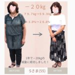 【お客様の声】健康のために減量!20キロ痩せました!!